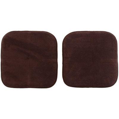 Set cojines para silla chocolate 40x40 cm