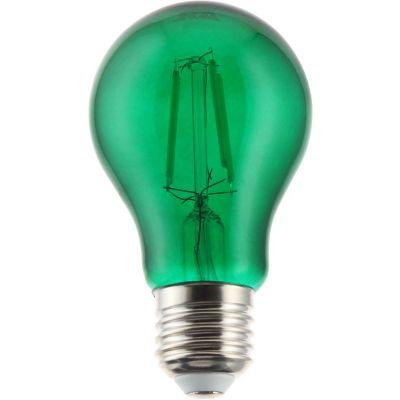 Foco led verde a64 4w e27