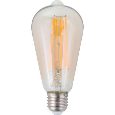 Foco led filamento 6W ST64 cálida E27 600lm