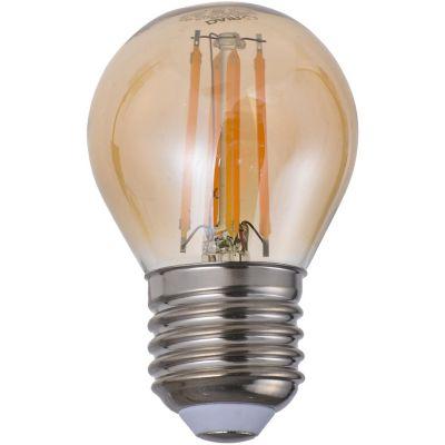 Foco led filamento 4W G45 cálida E27 360lm