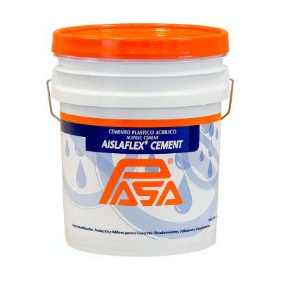 Cemento plástico acrílico 4 L