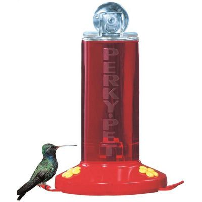 Bebedero ventana p/colibrí de 8 oz 2 estaciones