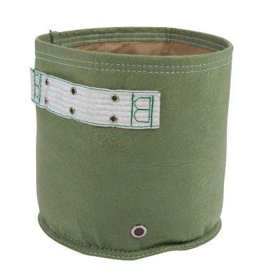 Huerto en bolsa de tela classic verde 5 gal