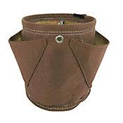 Huerto bolsa de tela mini herb chocolate 1.5 gal
