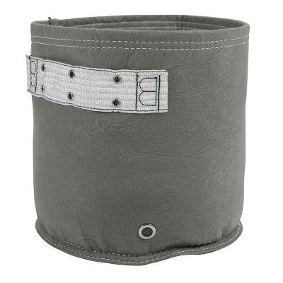 Huerto en bolsa de tela classic gris 2 gal