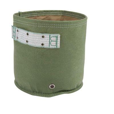 Huerto en bolsa de tela classic verde 2 gal