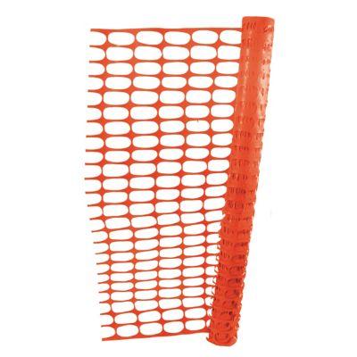 Malla plástica p/delimitar c/protección rayos UV 1/20 x 30/5
