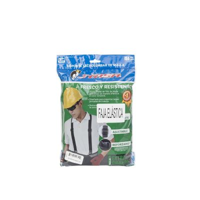 Faja elástica/ventilada con tercer cinturón broche samsonite cóncavo