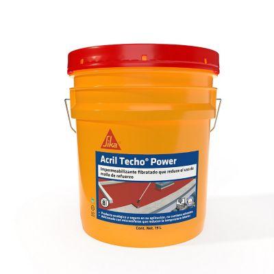 Impermeabilizante acrílico 19 L rojo