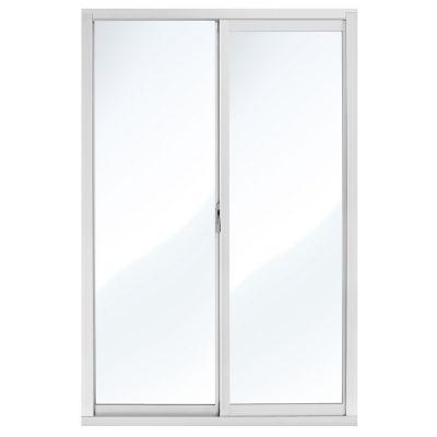 Ventana aluminio con mosquitero 60 x 90 cm