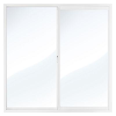 Ventana aluminio blanco 120 x 120 cm