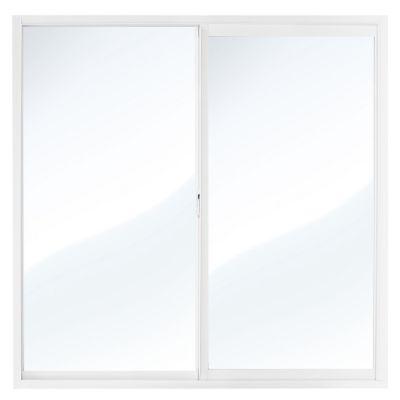 Ventana aluminio blanco 60 x 60 cm