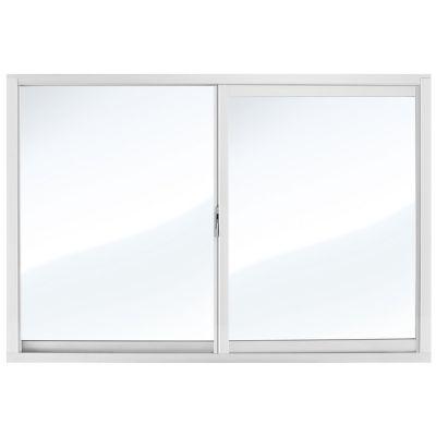 Ventana aluminio con mosquitero 90 x 60 cm