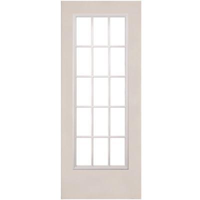 Puerta acero 15 luces 85 x 213 cm