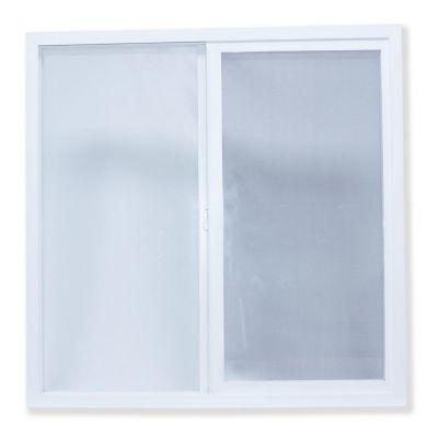 Ventana PVC blanco 100 x 100 cm