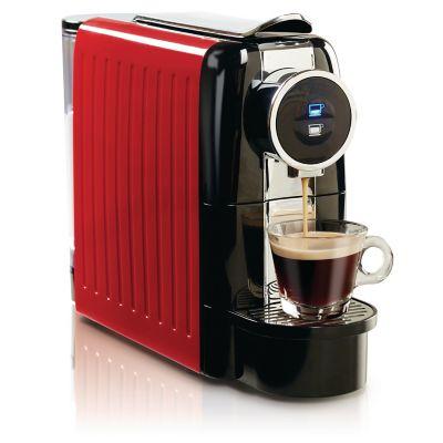 Cafetera Espresso para 19 Bares roja con negro