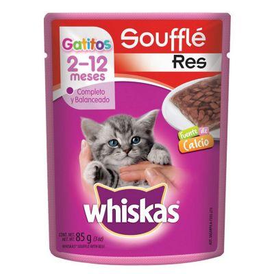 Alimento para gato cachorro res 85 g