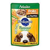 Alimento para perro pollo y vegetales 100 g
