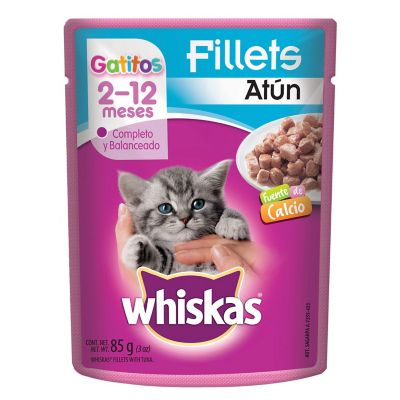 Alimento para gato cachorro atún 85 g