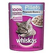 Alimento para gato pescado blanco 85 g