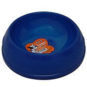 Plato para mascota plástico ligero grande azul