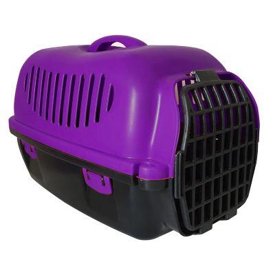 Transportadora para mascotas morada