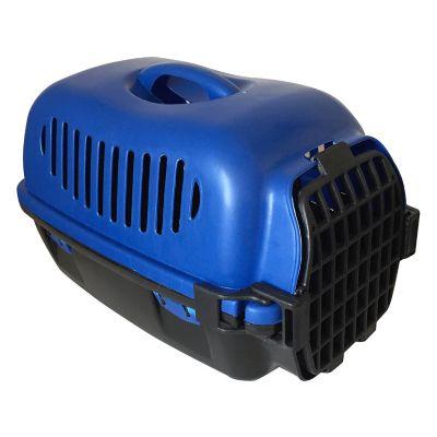 Transportadora para mascotas azul
