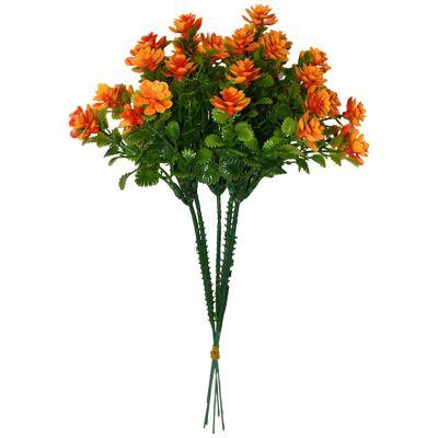 Ramo de mini rosas naranja