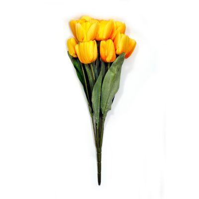 Ramo de 11 tulipanes amarillo