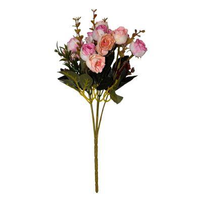 Ramo de rosas Baby crema y rosa