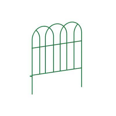 Cerca arco metálica grande verde 56 x 230 cm