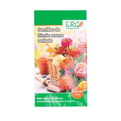Semillas de zinnia enana variada