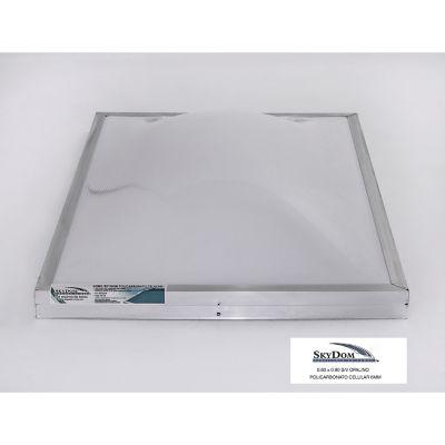 Domo de policarbonato sin ventola 60 x 90 cm