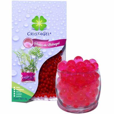 Perlas de hidrogel deshidratadas fucsia 5 g