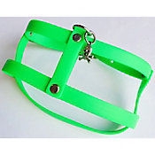 Pechera de caucho hipoalergénica extra chica verde