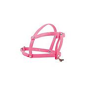 Pechera de caucho hipoalergénica extra chica rosa