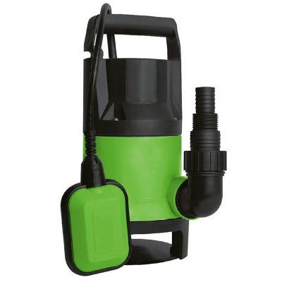 Bomba sumergible plastico agua limpia y sucia 1 hp