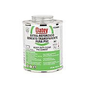Cemento Extra Reforzado Transparente para PVC de 16 oz