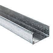 Poste metálico cal.26 4.10 cm x 3.05 m
