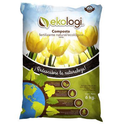 Composta natural orgánica 6 kg