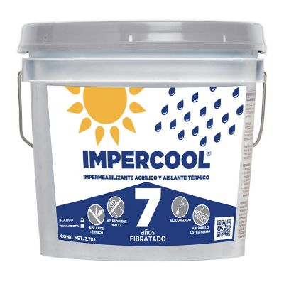 Impercool Fib 7A Blanco 3.8L