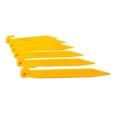 Pack de estacas de plástico 6 piezas