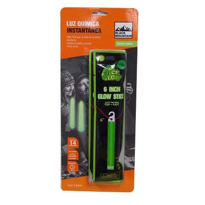 Luz química verde 2 piezas