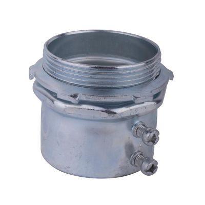 Conector de acero galvanizado para tubo EMT 2¿