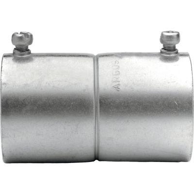 Cople de acero galvanizado para tubo EMT 2¿