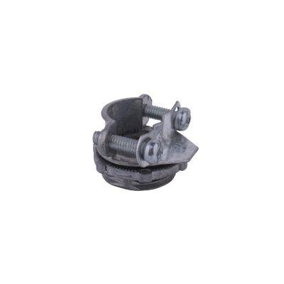 Conector recto para tubo metálico flexible 3/8¿