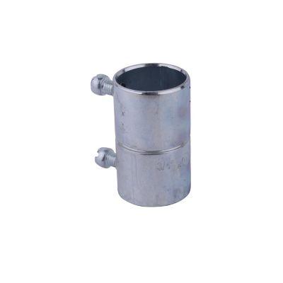 Cople de acero galvanizado para tubo EMT 3/4¿