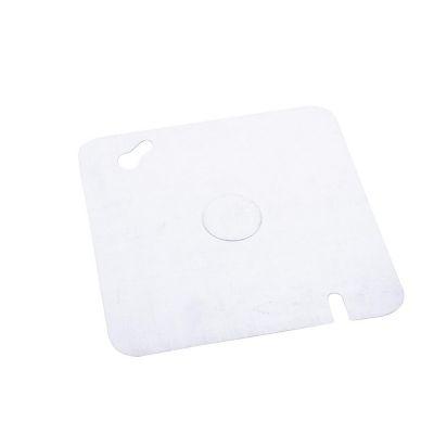 Tapas metálica cuadrada 4X4
