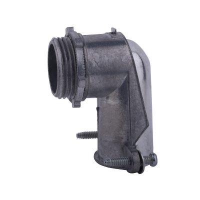 Conector curvo para tubo flexible 1¿