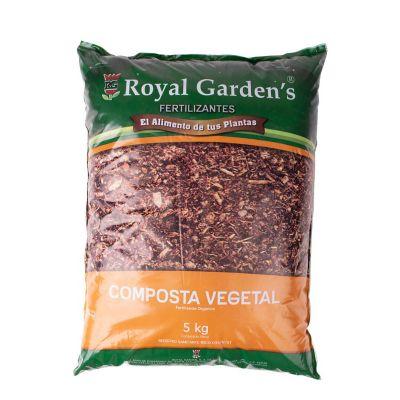 Composta vegetal orgánica 5 kg